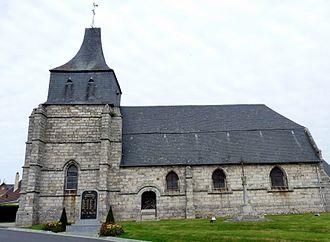 Tourville-sur-Arques - The church in Tourville-sur-Arques