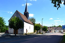 The church in Toury-Lurcy