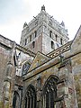 Tower, Tewkesbury Abbey - geograph.org.uk - 1415862.jpg