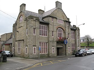 Cavan - The Town Hall located in Market Street, Cavan.