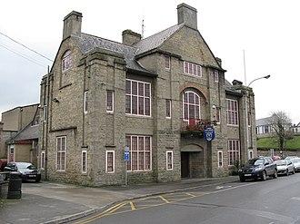 Cavan - The Town Hall located in Market Street, Cavan.