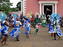 São Tomé and Príncipe-Demographics-Traditional Dancers (20737426328)