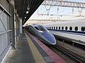 Train of Hakata-Minami Line at Hakata-Minami Station 3.jpg
