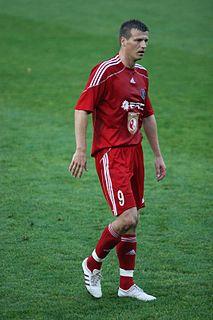 Valdas Trakys Lithuanian footballer and coach