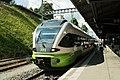 TransN Flirt RABe 527 331 - La Chaux-de-Fonds (28541249452).jpg