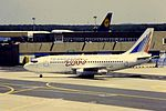Transaero B737-200 RA-73000 at FRA (15504438394).jpg