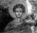 Transfiguration Monastery Fresco in Drenovo, Lunxheri, Albania, 1666.png