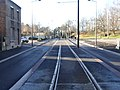 Travaux de la branche vers Vieux-Condé de la ligne B du tramway de Valenciennes en décembre 2013 (260).JPG