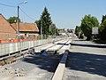Travaux de la branche vers Vieux-Condé de la ligne B du tramway de Valenciennes en mai 2012 (077).JPG