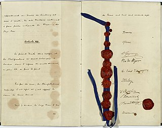 international treaty signed on 11 May 1867