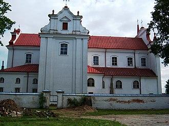 Troškūnai - Image: Troškūnų bažnyčia