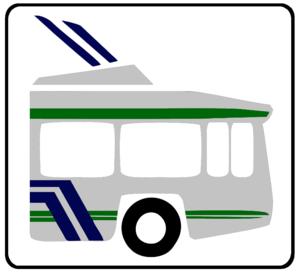 Mexico City Metro Line 1 - Image: Trolle DF