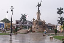 Central square or Main SquarePlaza de Armas de Trujillo