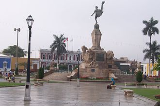 Edmund Moeller - Freedom Monument, in Trujillo, Peru, Moeller's most famous work