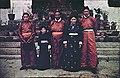 Tsarong family group outside Tsarong's house.jpg