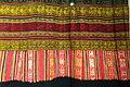 Tubular skirt, Muong, Hoa Binh, 1958, view 2, handmade cotton, natural dyes - Vietnamese Women's Museum - Hanoi, Vietnam - DSC03932.JPG