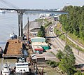 Tugs and barges in New Westminster, BC.jpg