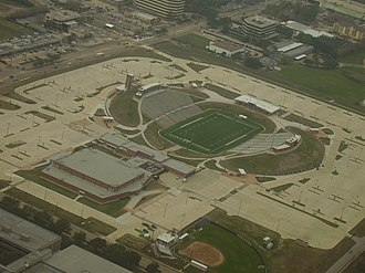 Spring Branch Independent School District - Tully Stadium, viewed by air