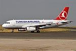 Turkish Airlines, TC-JLT, Airbus A319-132 (15833839314) (3).jpg
