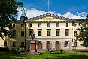 Old Academy Building - The Court of Appeal side of the Old Academy Building in Turku,