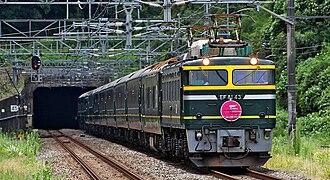Twilight Express - Image: Twilight Express EF81 43 20090831