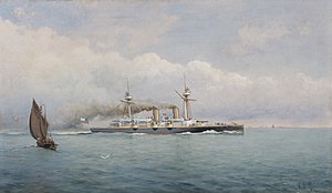 Argentine–Chilean naval arms race