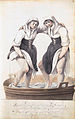 Two washerwomen, tamping the laundry in a tub, by Gesina ter Borch.jpg
