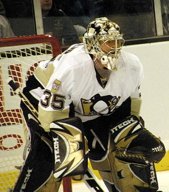 2007–08 Pittsburgh Penguins season - Ty Conklin went 17–6–5 in Marc-Andre Fleury's absence.