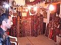 Typical carpet shop in Baku.JPG