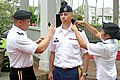 U.S. Army Sgt. Maj. Rocky Carr, the operations sergeant major for the 8th Sustainment Command , is laterally promoted to command sergeant major Feb. 25, 2014, by Maj. Gen. Stephen R. Lyons, the commanding 140225-A-KH515-846.jpg