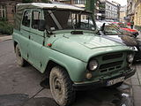 UAZ-469 on Garbarska street in Kraków (6).jpg