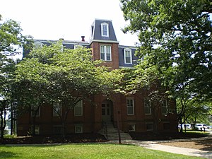 University of Maryland, College Park - Morrill Hall, built in 1898, is the oldest academic building on campus
