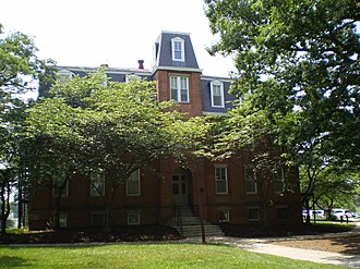Morrill Land-Grant Acts - Morrill Hall, on the campus of the University of Maryland, College Park (a land-grant university), is named for Senator Justin Morrill, in honor of the act he sponsored.