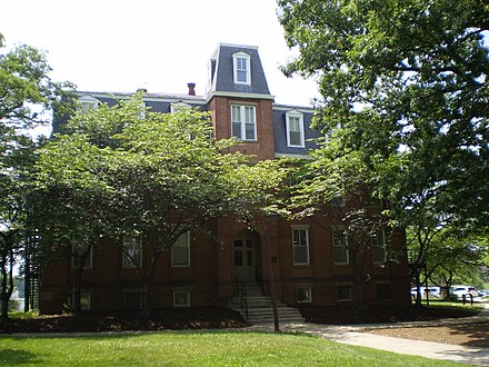 Morrill Hall, built in 1898, is the oldest academic building on campus. UMD Morrill Hall.JPG