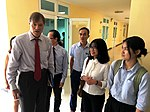 USAID Vietnam Mission Director Michael Greene visits Hue University of Medicine and Pharmacy (36815582943).jpg