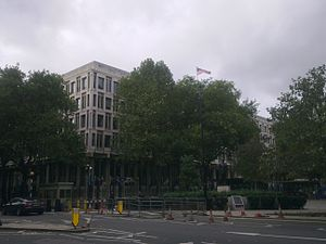 Embassy of the United States, London - The embassy in 2013