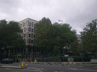 Embassy of the United States, London - The former embassy in 2013
