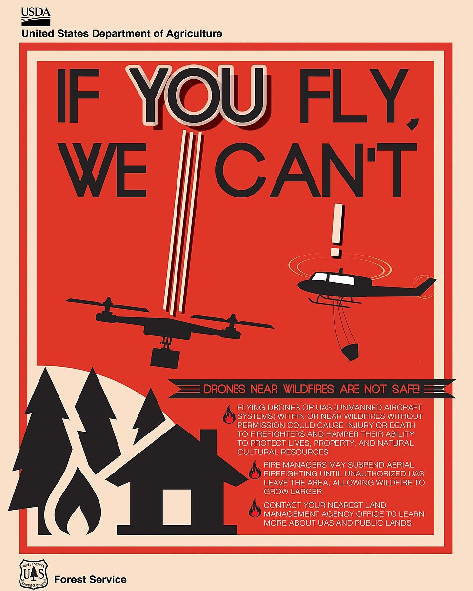 USDA Drone poster
