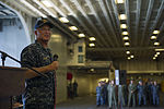 USS America all-hands call with Vice Adm. Thomas S. Rowden 141106-N-LD343-007.jpg