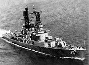 USS John S McCain (DDG-36) underway in 1969