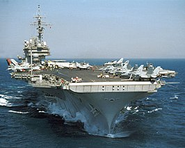 De USS Kitty Hawk