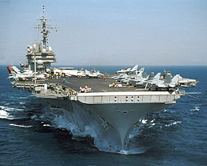 Kitty Hawk-class aircraft carrier - Image: USS Kitty Hawk CV 63