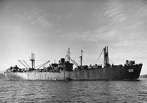 Crater-class cargo ship - USS Livingston AK-222