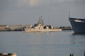 USS Zephyr - Image: USS Zephyr (PC 8) pulling into Naval Station Mayport in 2014