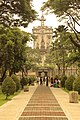 UST Main Building in the facade of Lovers' lane.jpg