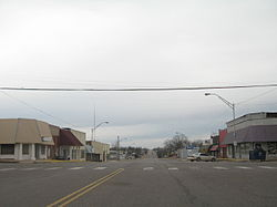 Meeker as seen from U.S. Highway 62.