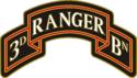 3rd Ranger Battalion Combat Service Identification Badge (CSIB)