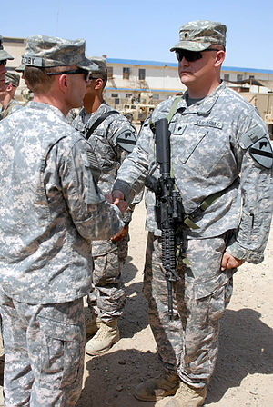 US Army 51051 BAGHDAD - Killeen, Texas native,...