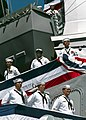 US Navy 020622-N-8252B-002 Sailors 'man the rails' aboard USS Shoup.jpg
