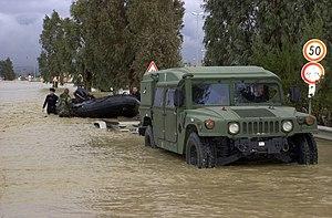 Naval Air Station Sigonella - NAS Sigonella suffered by flooding on December 2005.